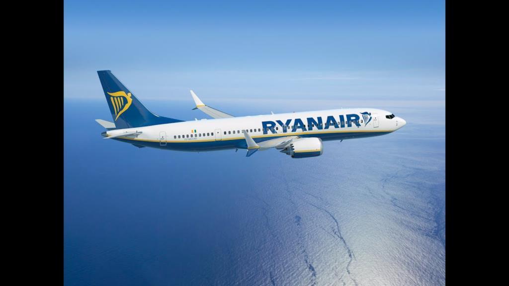 Ecco i nuovi voli Ryanair su Trapani da marzo 2020